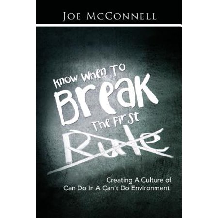 Know When to Break the First Rule - eBook