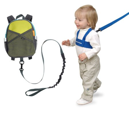 Brica Brica By My Side Safety Harness Backpack Green