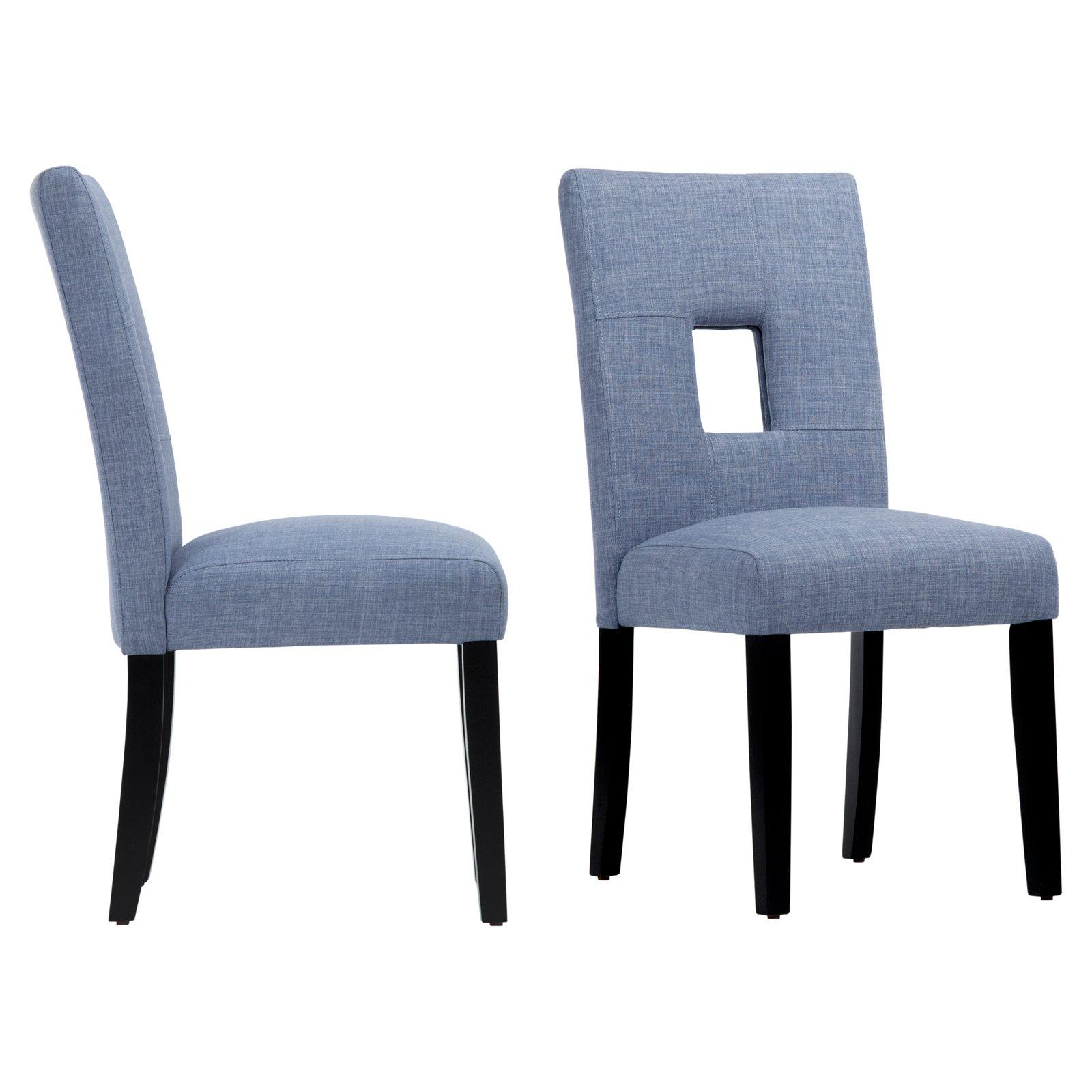 Chelsea Lane Keyhole Side Chair, Set of (2)