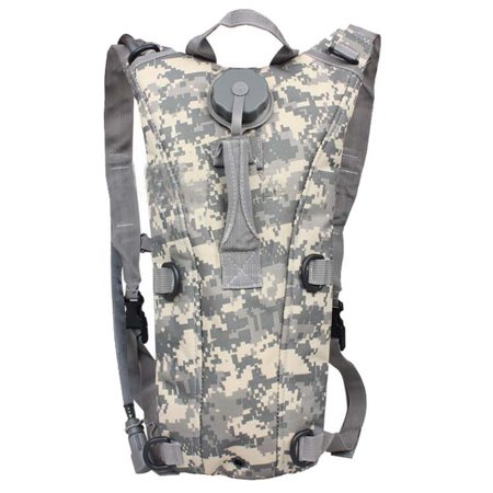 Ultimate Arms Gear Tactical Acu Army Digital Camo Camouflage Hydration Pack Backpack Carrier With 2 5 Liter Water Drinking Bladder Reservoir Includes Hosing And Hands Free Bite Valve