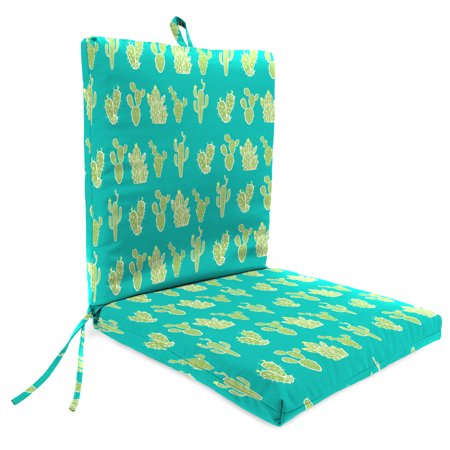 Mainstays Cactus 1 Piece Outdoor Dining Chair - 1 Outdoor Chair Cushions