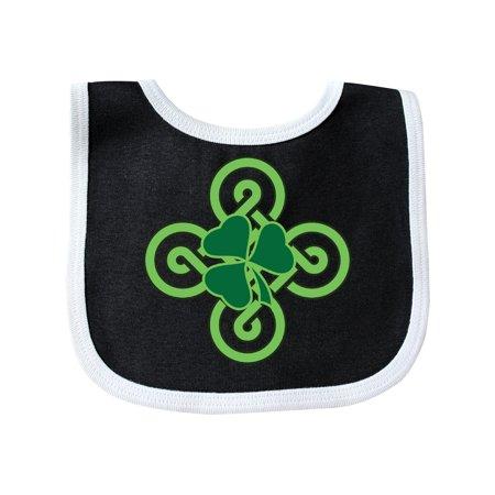 St Patricks Day Shamrock Irish Baby Bib
