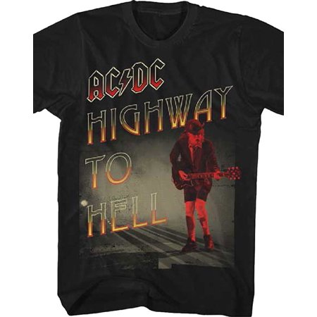 AC/DC Highway To Hell Adult T-Shirt