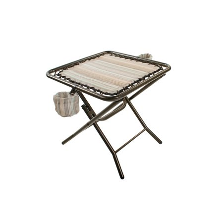 Side Table With 2 Detachable Cup Holders For Gfc Walmart Com