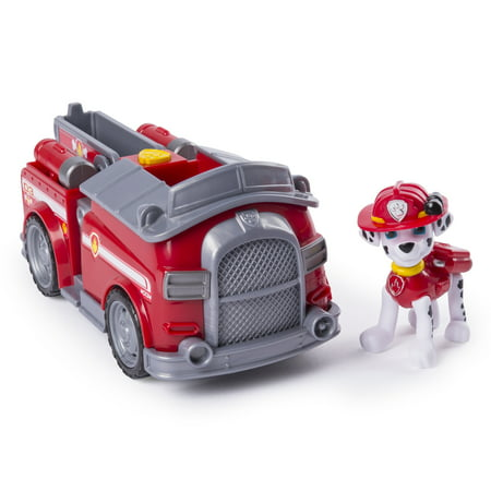 PAW Patrol, Marshall's Transforming Fire Truck with Pop-out Water Cannons, for Ages 3 and