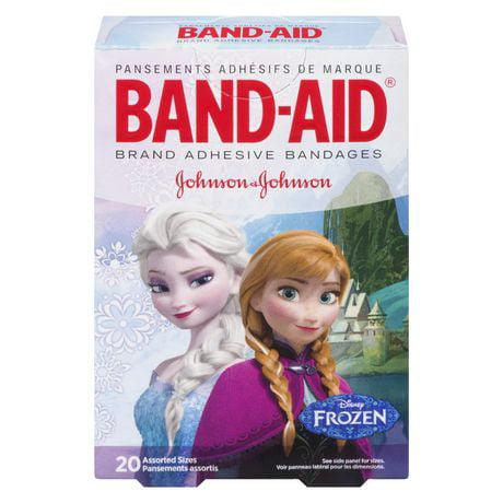 Band-Aid Disney Frozen Adhesive Bandages (Pack of 24)