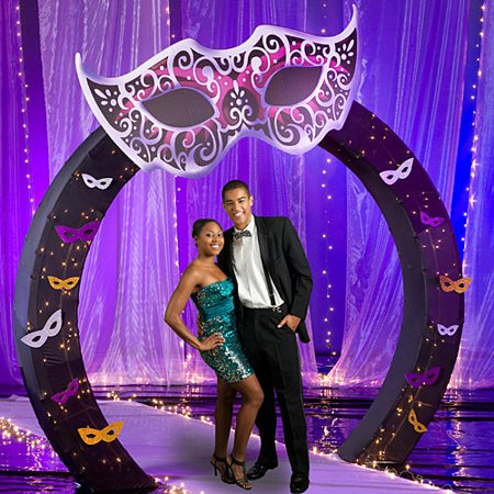 36 in. Masquerade Ball Arch Decorations](Mascarade Decorations)