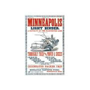 Minneapolis Light Binder Print (Unframed Paper Print 20x30)