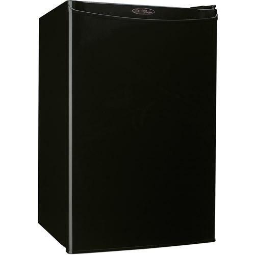 Danby Designer 4.4 cu ft Compact Refrigerator, Black