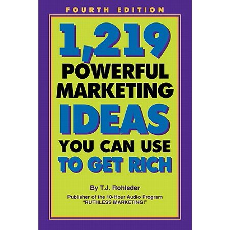 1,219 Powerful Marketing Ideas You Can Use to Get Rich (Marketing Ideas For Halloween)