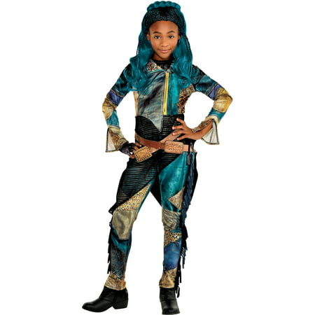 Halloween City Costumes For Girls (Party City Uma Halloween Costume for Girls, Descendants 3, Includes)