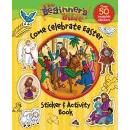 Beginner s Bible Come Celebrate Easter Sticker And Activity Book