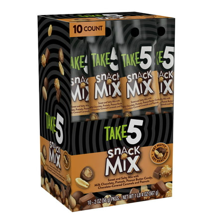Take5, Snack Mix, 20 Oz, (Pack of 10) - Top 20 Halloween Snacks