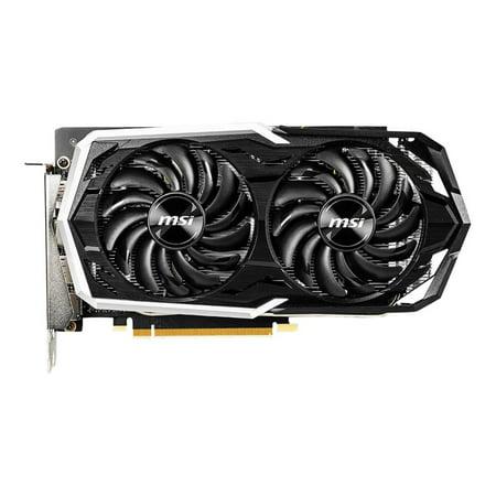 MSI GeForce GTX 1660 Ti GTX 1660 TI ARMOR 6G OC 6GB 192-Bit GDDR6 PCI Express 3.0 Video