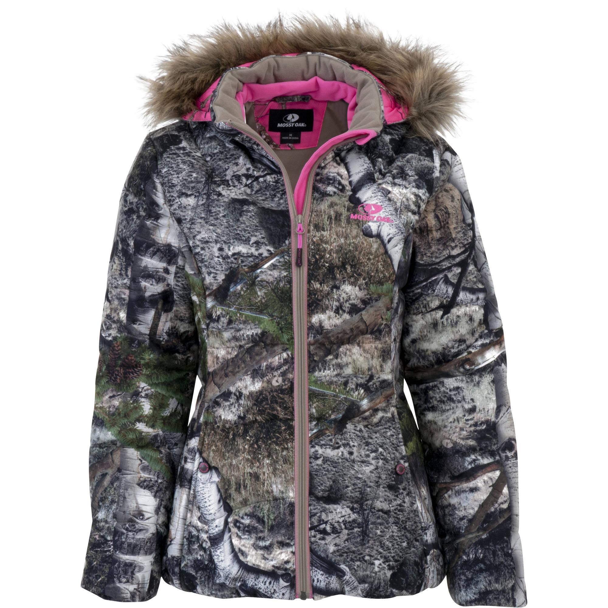 Womens Jacket Bubble, Mossy Oak Mountain Country by