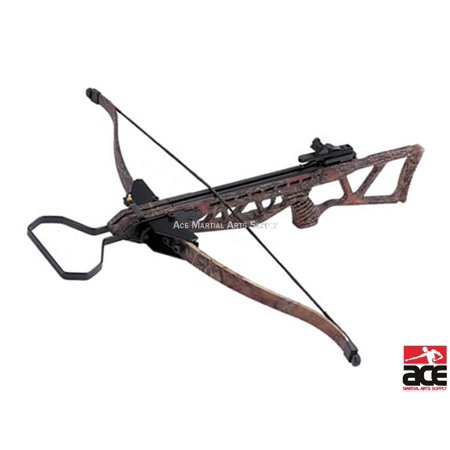 NEW ARCHERY HUNTING 220 FPS CAMO BOW Gun 180 LB CROSSBOW w/ ARROWS BOLTS