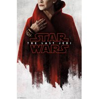 Star Wars: The Last Jedi - Red Leia Poster and Poster Mount Bundle