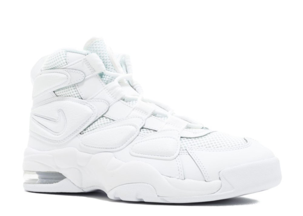 a6796f72d28c Nike - Men - Air Max2 Uptempo  94  Triple White  - 922934-100 - Size 11