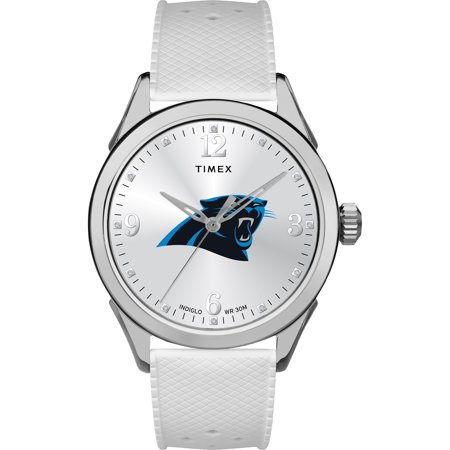 Timex - NFL Tribute Collection Athena Women's Watch, Carolina Panthers (Panthers Sports Watch)