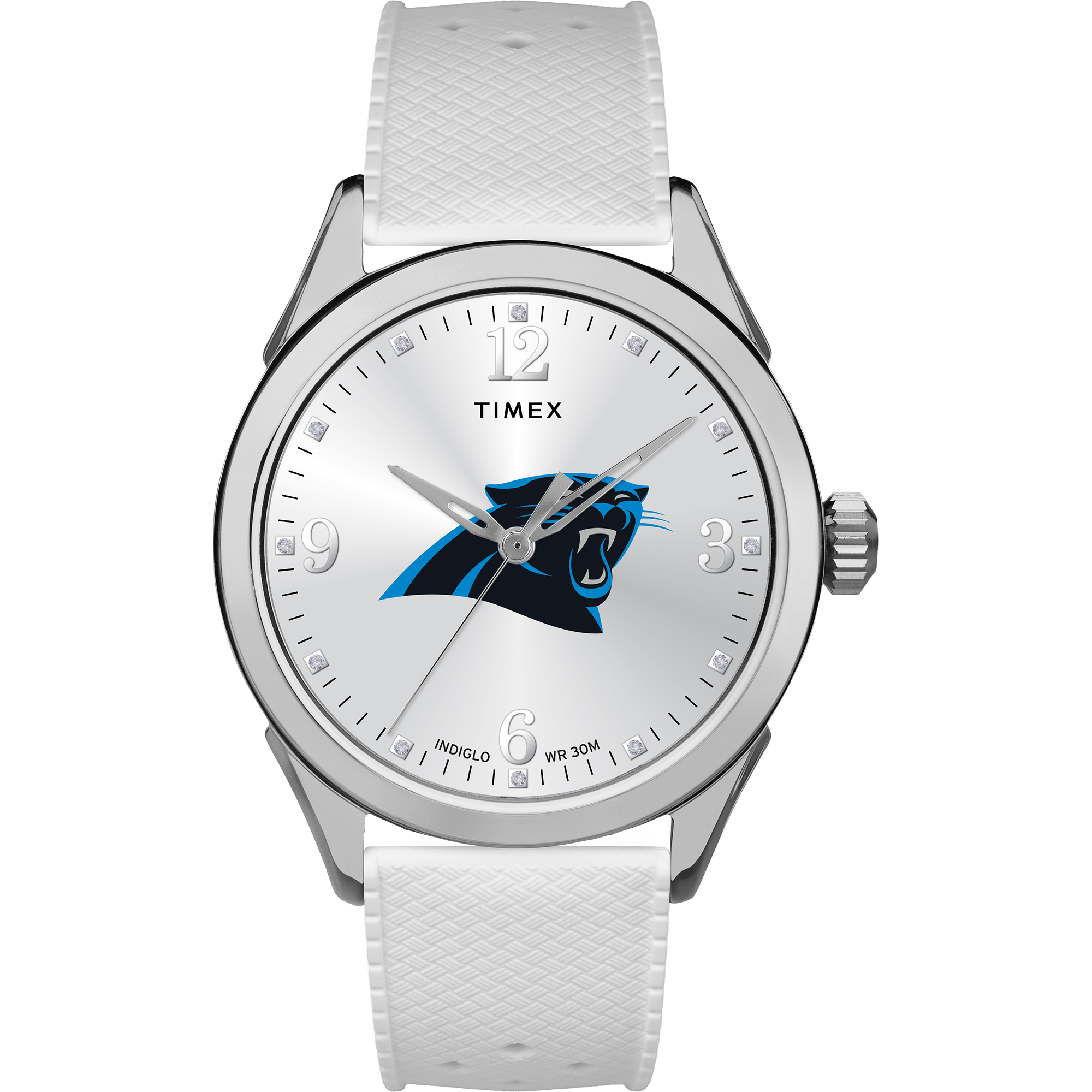 Timex - NFL Tribute Collection Athena Women's Watch, Carolina Panthers