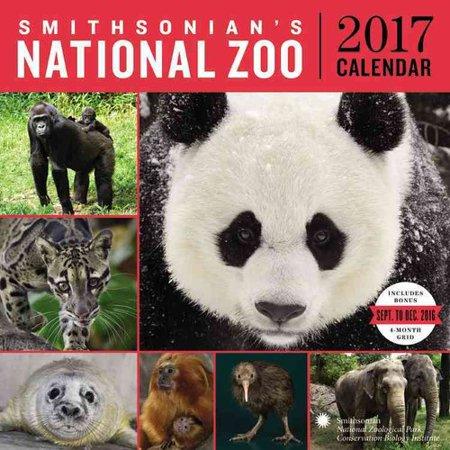 smithsonian national zoo 2017 wall calendar com