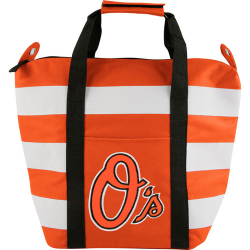 MLB - Baltimore Orioles Freeze Striped Cooler Tote Bag