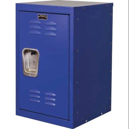 HALLOWELL Wardrobe Locker,Lvrd,1 Wide, 1 Tier,Blu HKL1515(24)-1GS ()