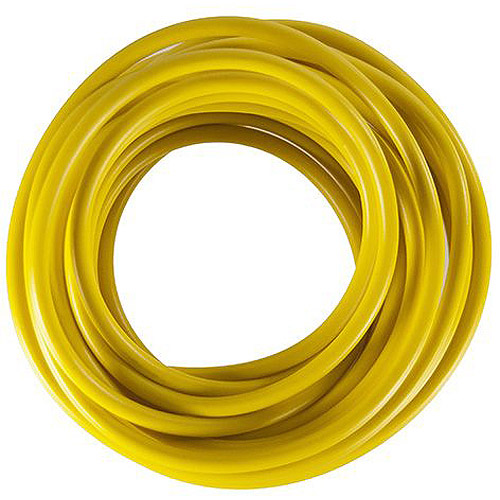 JT&T Products 107F 10 AWG Yellow Primary Wire, 8' Cut