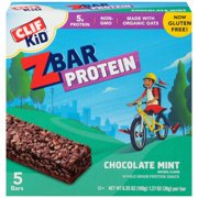 - (2 Pack) Clif Kid Z Bar, Chocolate Mint, 5 Ct