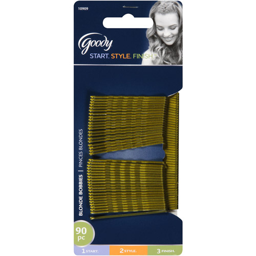 Goody Bobby Pins, Blonde 10909, 90 count