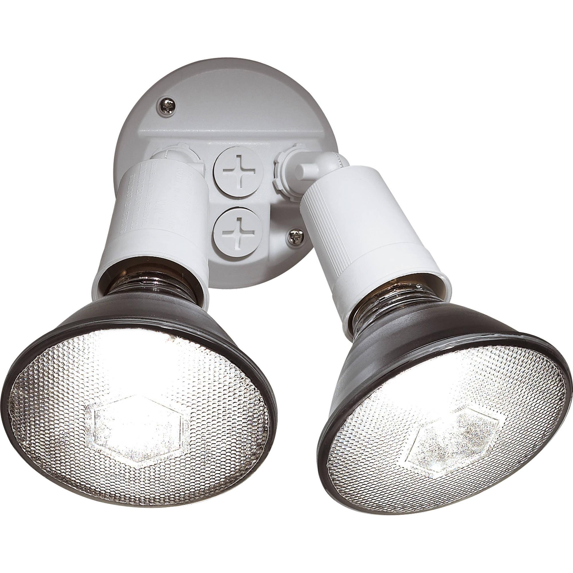 Brinks 2-Head Flood Security Light