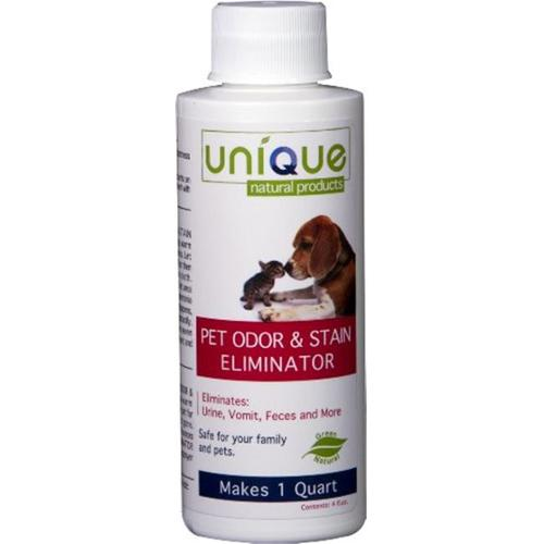 Unique Natural Products Pet Odor and Stain Eliminator, 4-Ounce