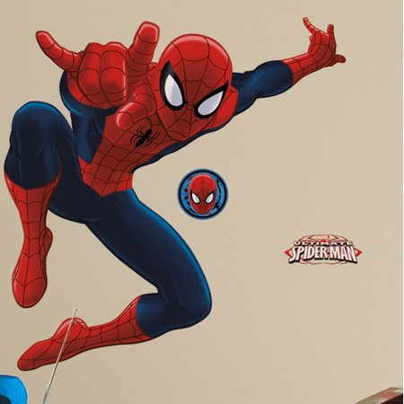 Room Mates Spider-Man Ultimate Giant Wall Decal - Walmart.com