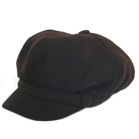 Women's Warm Classic Newsboy Style Hat P138
