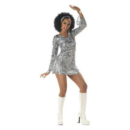 Womens Disco Diva Costume - Womens Disco