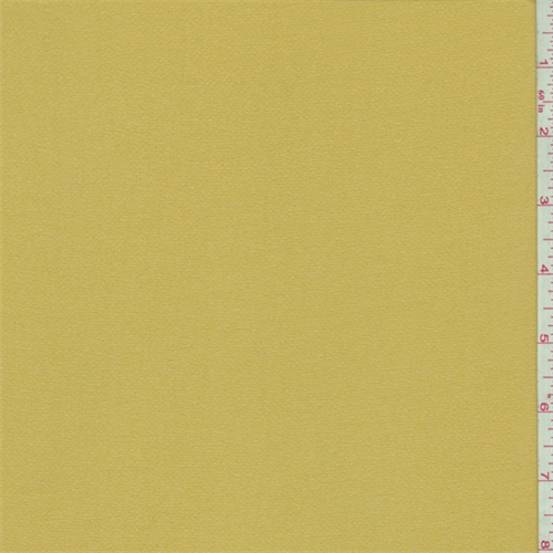 Harvest Gold Georgette, Fabric By the Yard