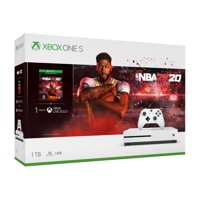 Walmart Black Friday Ad Sale Microsoft Xbox One S 1TB NBA 2k20 Bundle, White, 234-00998