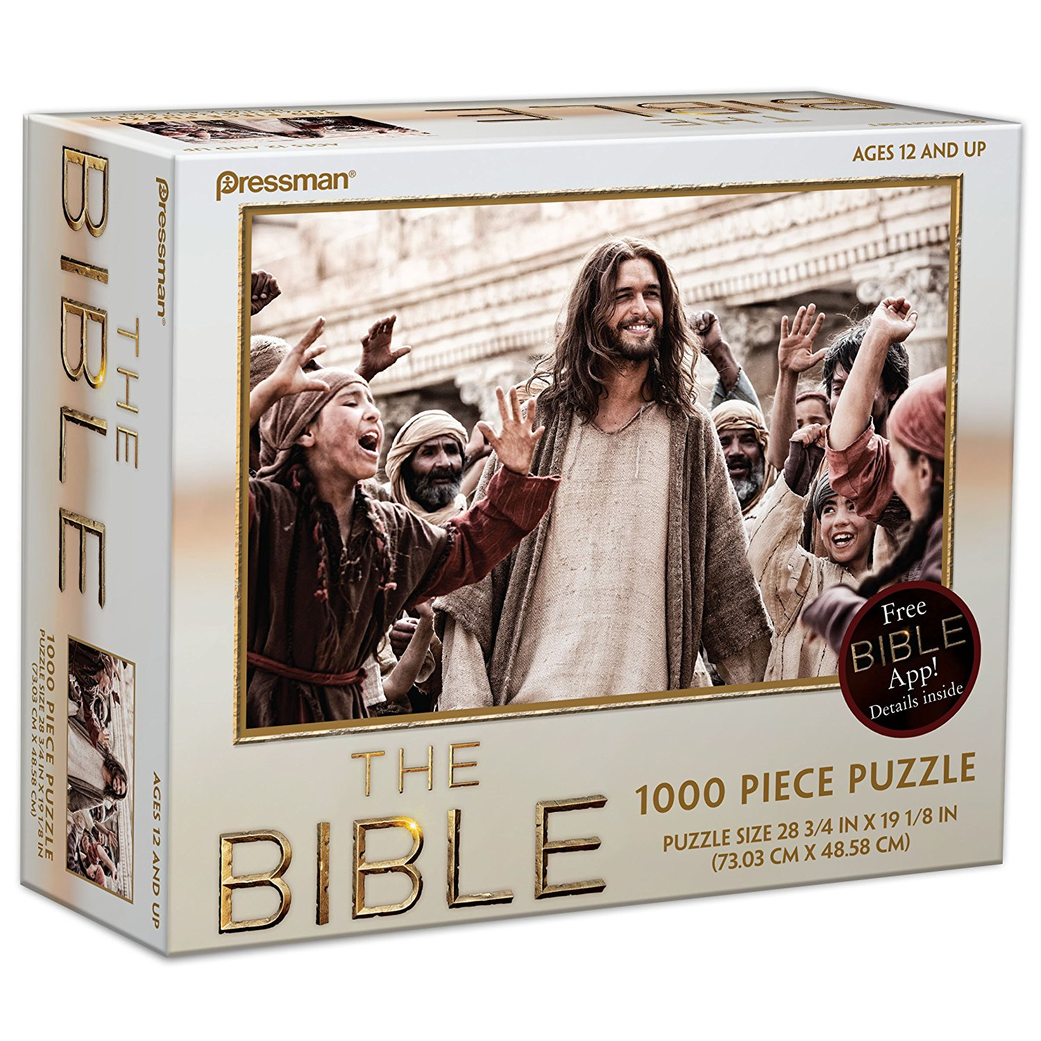 s The Bible Puzzle Style #1 (1000-Piece), 1,000 Piece Puzzle By Pressman Toy by
