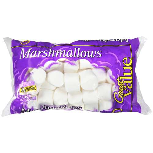 Great Value: Marshmallows, 16 oz
