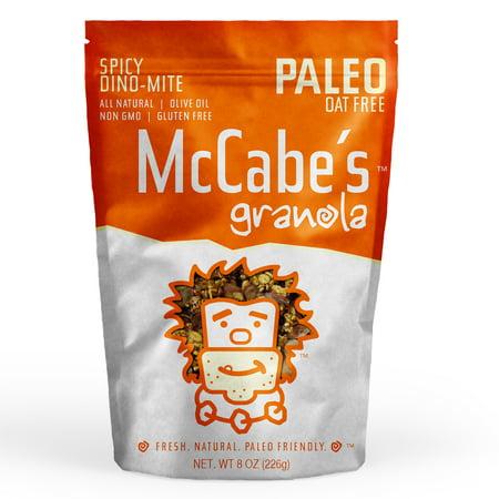 McCabe's Gluten Free Paleo Granola, Spicy Dino-Mite, 8 Oz
