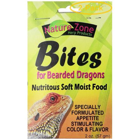 Nature Zone Nutri Bites for Bearded Dragons 2 oz - Pack of (Nutri Bites)