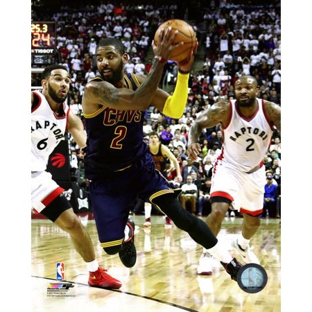 Kyrie Irving 2016 17 Playoff Action Photo Print