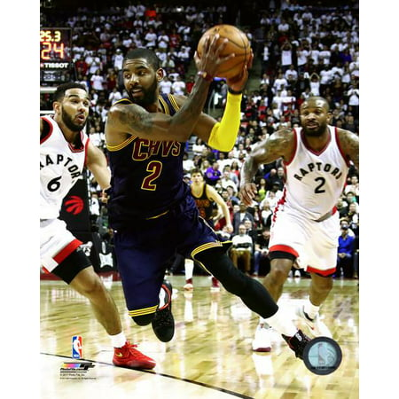 Kyrie Irving 2016-17 Playoff Action Photo Print