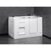 Aston  White 55x30-inch Jetted Walk-In Tub