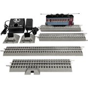 Lionel O Scale The Polar Express Trolley Set with Announcement Track and Control Box Electric Powered Model Train Set