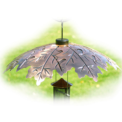 WoodLink Weather Shield Copper Oak Leaf Squirrel Baffle