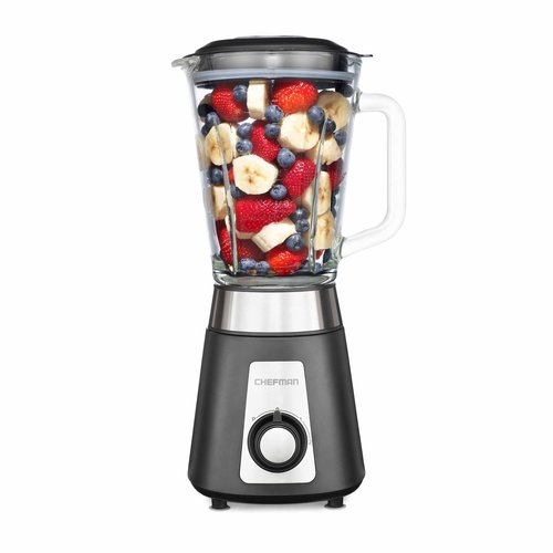 Chefman 500-Watt Glass Jar Blender