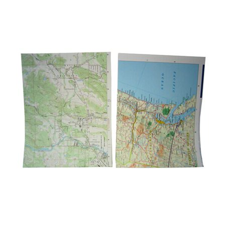 (JAM Paper Map Paper, 8.5 x 11, Map Design, 25 Sheets/pack)