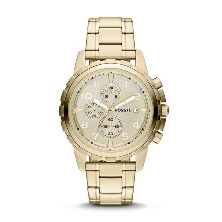 Fossil Men's Dean Stainless Steel Chronograph Watch (Style: FS4867)