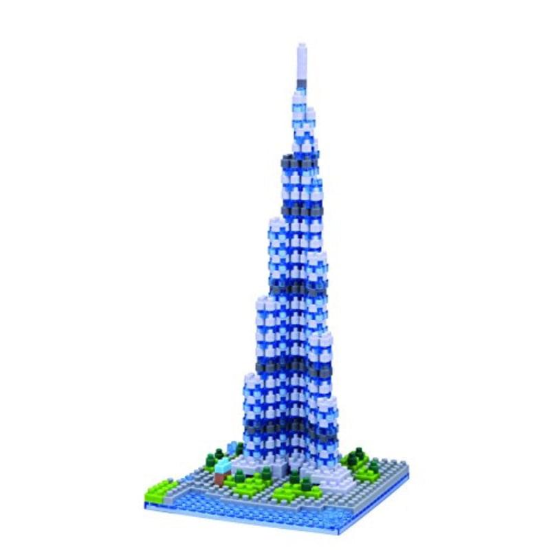 Nanoblock Khalifa Tower Building Kit by